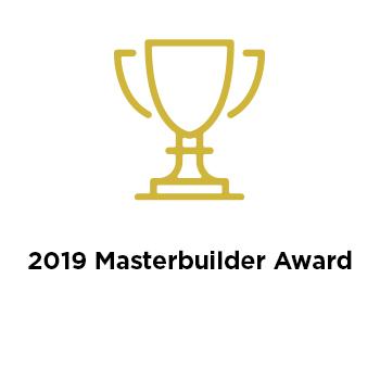 2019 Masterbuilder Award
